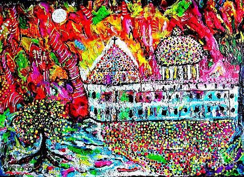 Mission San Juan Capistrano by Darlyne Sax