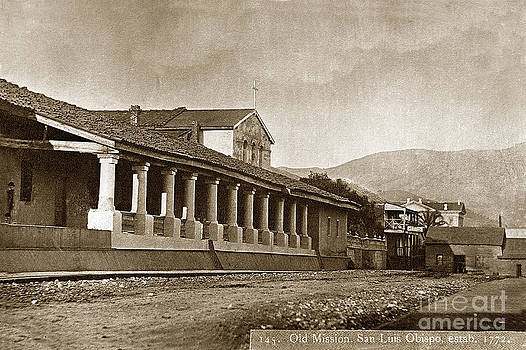California Views Mr Pat Hathaway Archives - Mission San Luis Obispo California  circa 1880