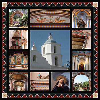Art Block Collections - Mission San Luis Rey