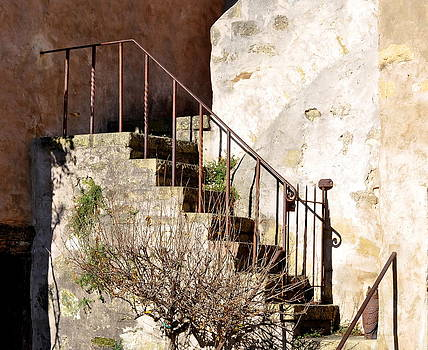 Mission Stairs by AJ  Schibig