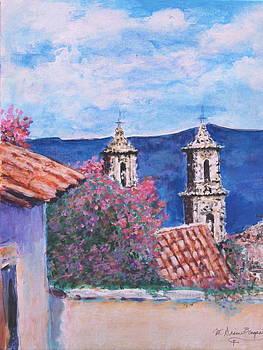 Mission View by M Diane Bonaparte