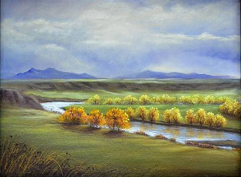 Missouri River At Fort Benton by Cindy Welsh