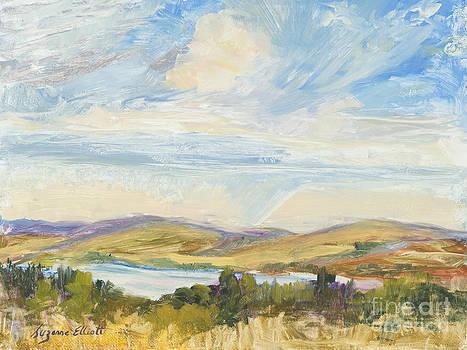 Missouri River Valley North Dakota by Suzanne Elliott