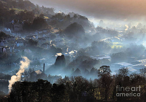 Mist in the Industrial Valley by Catherine Perkinton