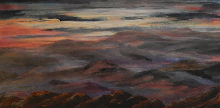 Mist in the Mountains by Shirley Watts