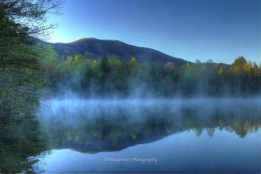 Mist of Indian Boundary Lake by Paul Herrmann
