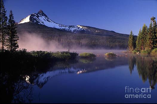 Mist off of Big Lake by Joe Klune