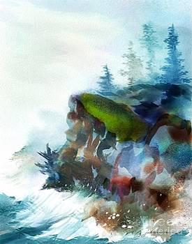 Mist on the Cliff by Joan A Hamilton