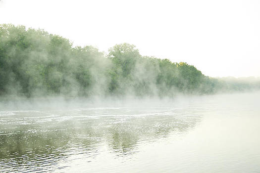Mist on Water 3 by Kate Johnson