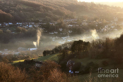 Mist Ribbons and Smoke  by Catherine Perkinton