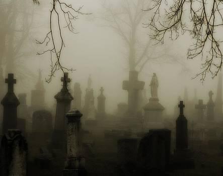 Gothicrow Images - Misted Fog Graveyard