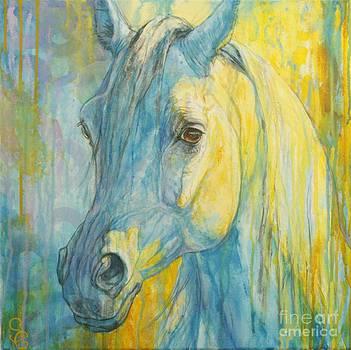 Misterious Blues by Silvana Gabudean Dobre