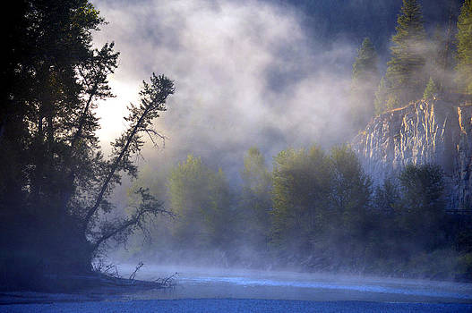 Mists over Kettle River by J Foster Fanning