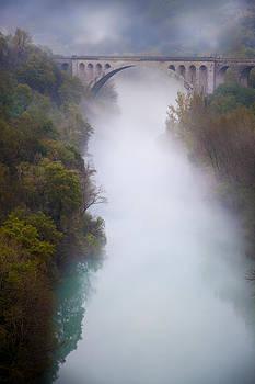 Misty bridge by Martin Joyful