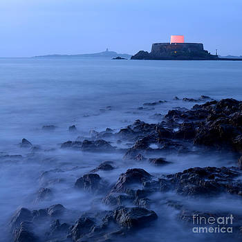 Misty evening in Guernsey by Rob Smith