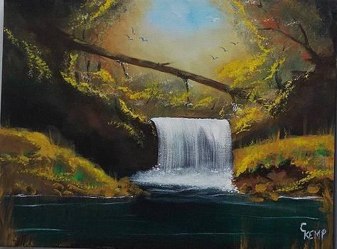 Misty Falls by Chuck Kemp