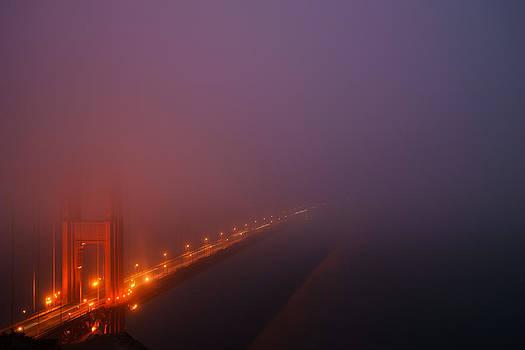 San Francisco - Misty Golden Gate  by Francesco Emanuele Carucci