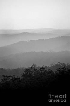 Misty Hills by David Benson