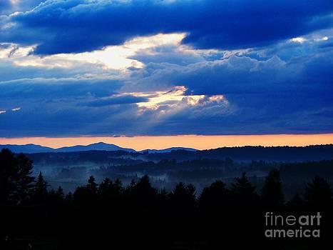Misty Hills by Steven Valkenberg