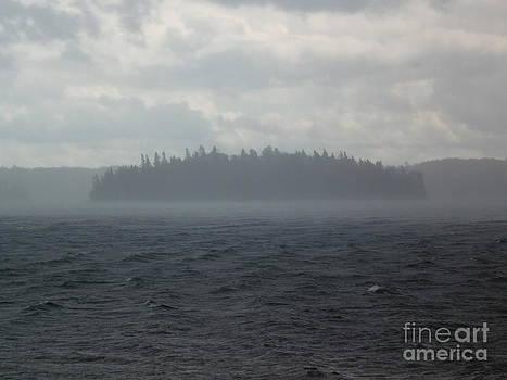 Misty Island by Karolina Olszewska