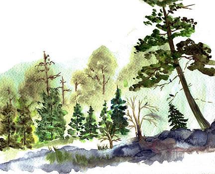Ellen Miffitt - Misty Landscape