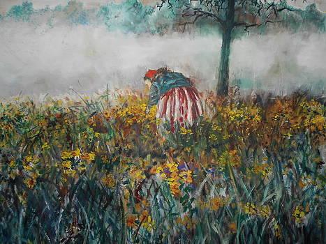 Misty Morn by J Anthony Shuff