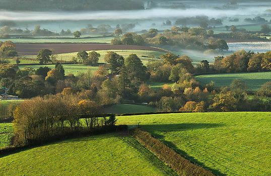 Misty morning by Pete Hemington