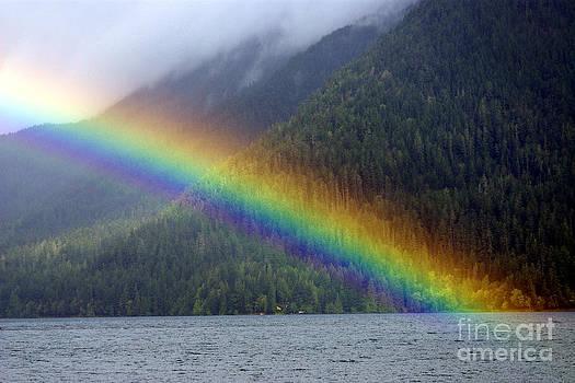 Douglas Taylor - MISTY MOUNTAINS - MORNING RAINBOW
