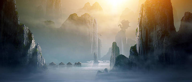 Misty Mountains by Tobias Roetsch