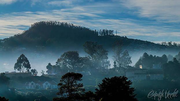 Misty Nilgiri Hills by Girish Veetil