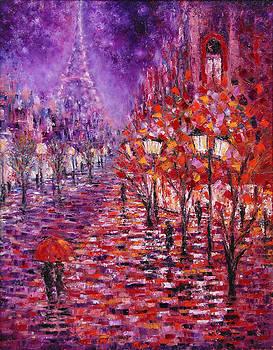 Misty Purple by Helen Kagan