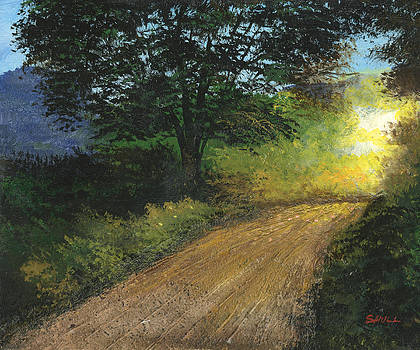 Misty Road by Harold Shull