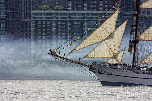 Misty Sails by Nishanth Gopinathan