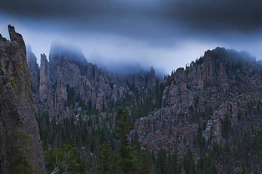 Misty Spires by Evan Ludes
