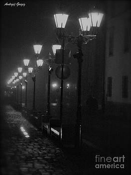 Misty Time by Go spleen - Shalom  Kroke Gosher Galicia. by  Andrzej Goszcz