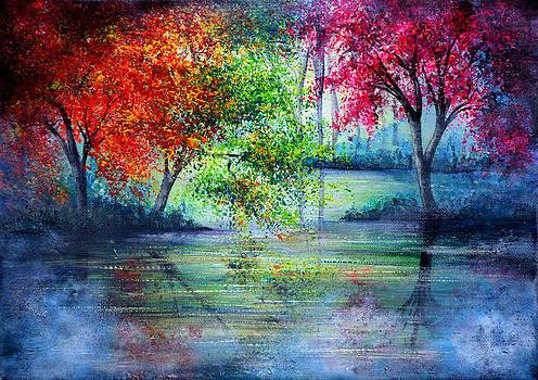 Misty Waters by Ann Marie Bone