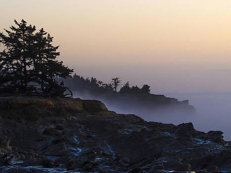 Misty Wave Watchers by Kristal Talbot
