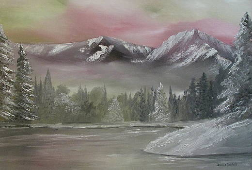 Misty winter by Dawn Nickel