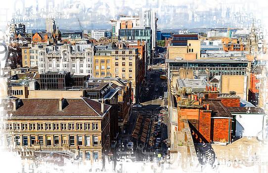Mitchell Street Glasgow by Fiona Messenger