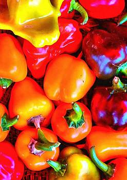 Mixed Peppers by Mick Flynn
