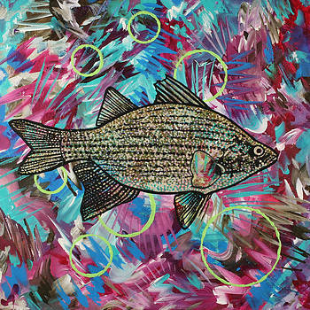 Mm That's Good White Bass by Julianne Hunter