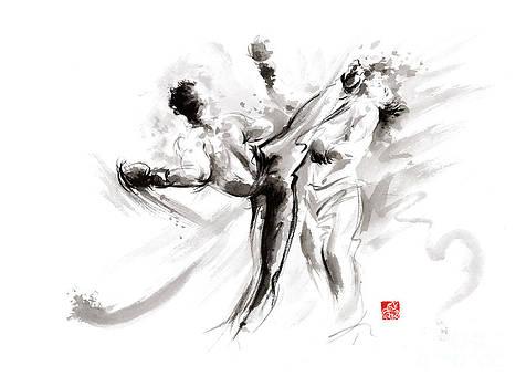 MMA martial arts by Mariusz Szmerdt