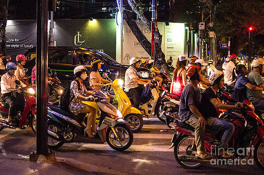 Pravine Chester - Mobike riders of Saigon