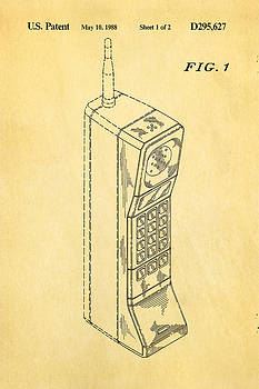 Ian Monk - Mobile Phone Patent Art 1988