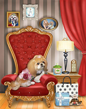 Mocha s Living Room by Catia Lee