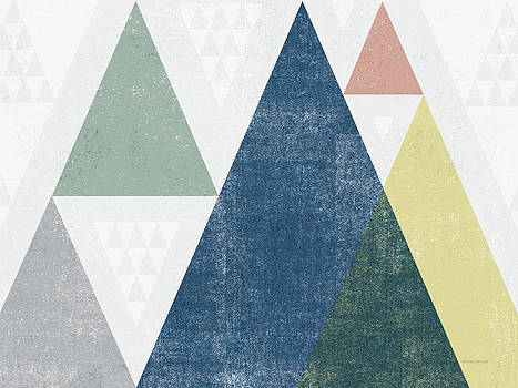 Mod Triangles I Soft by Michael Mullan