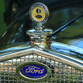 Model A Ford Hood ornament by Jim Cotton