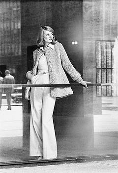 Model Wearing A La Flaque De Paris Coat by Kourken Pakchanian