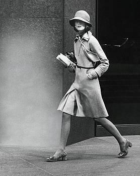Model Wearing A Nina Ricci Dress by Kourken Pakchanian