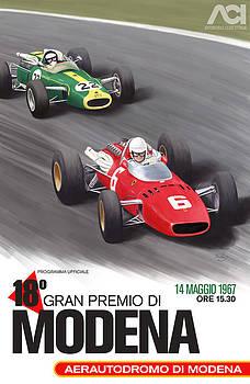 Georgia Fowler - Modena Gran Premio 1967